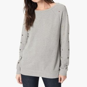 Joe's Jeans Women's Izzy Sweatshirt Heather Gray